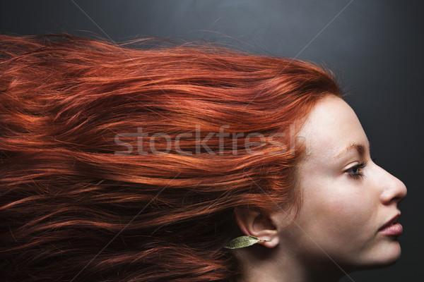 髪 ストリーミング 後ろ 女性 かなり 赤毛 ストックフォト © iofoto