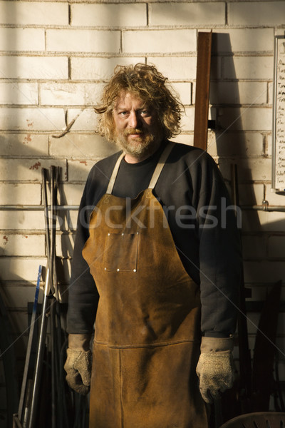 Metalsmith portrait. Stock photo © iofoto