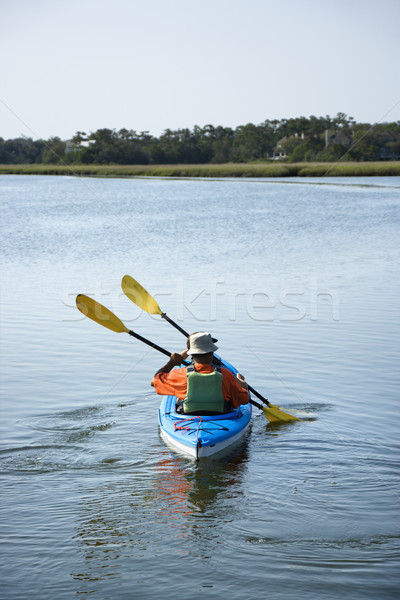 Kayakers. Stock photo © iofoto