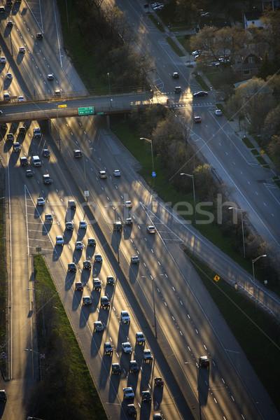 Chicago traffic. Stock photo © iofoto