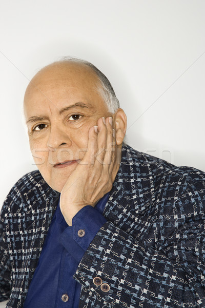 Portré érett férfi kaukázusi középkorú felnőtt férfi férfi Stock fotó © iofoto