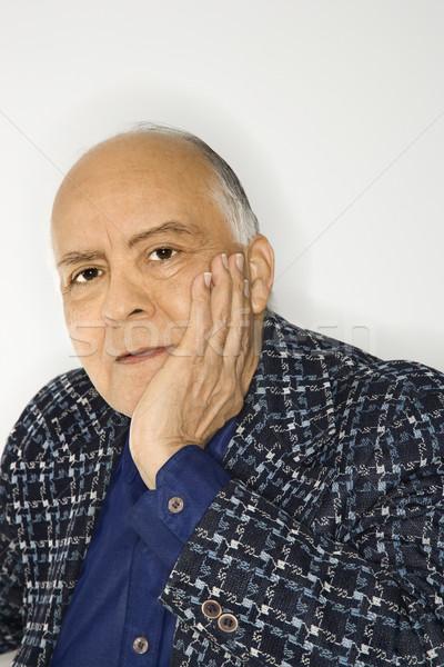 Portrait of mature man. Stock photo © iofoto