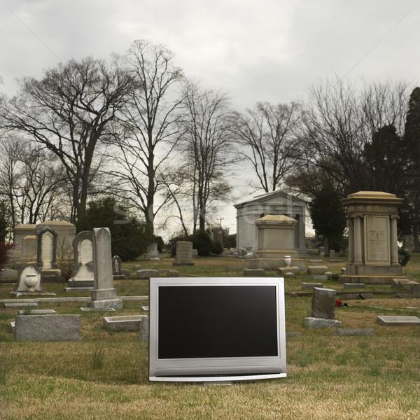 テレビ 墓地 パネル セット 墓地 技術 ストックフォト © iofoto