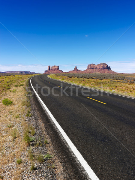 Scenic desert highway. Stock photo © iofoto