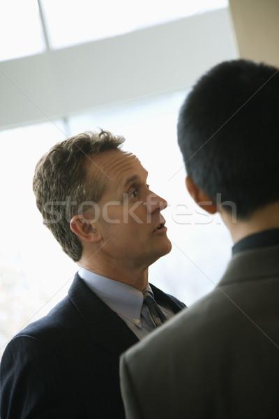 Businessmen Talking Stock photo © iofoto