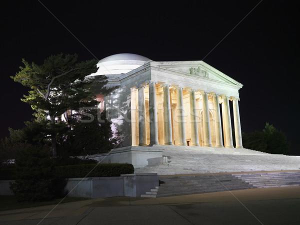 Jefferson Memorial at night. Stock photo © iofoto