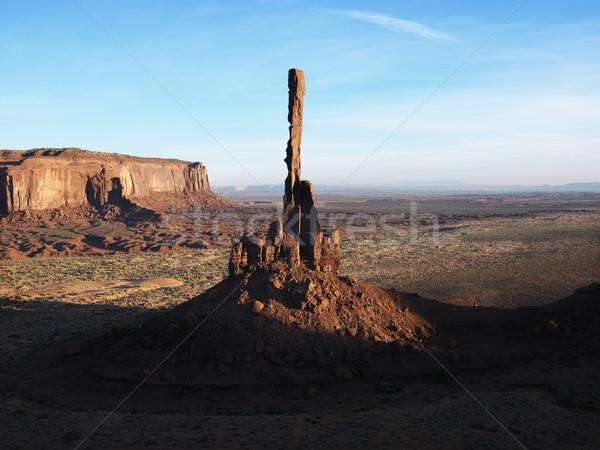 The Totem Pole rock. Stock photo © iofoto