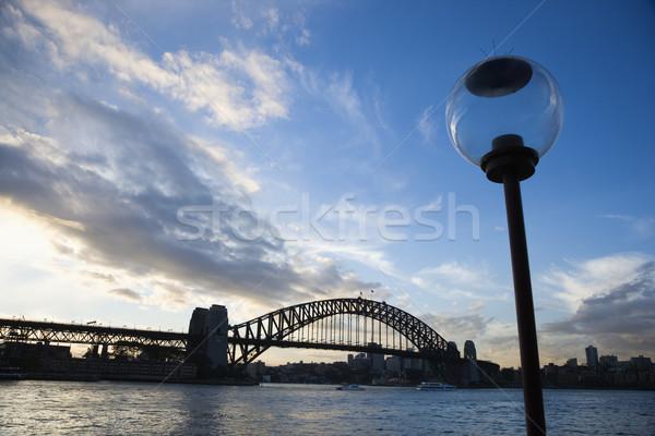 Sydney porto Austrália ver ponte água Foto stock © iofoto
