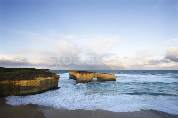 Kust rotsformatie Londen boog formatie kustlijn Stockfoto © iofoto