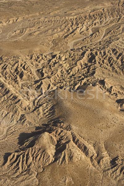 Délnyugat tájkép légifelvétel hegy szem hegyek Stock fotó © iofoto