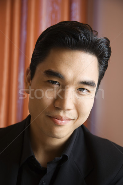 Portrait of Asian man. Stock photo © iofoto