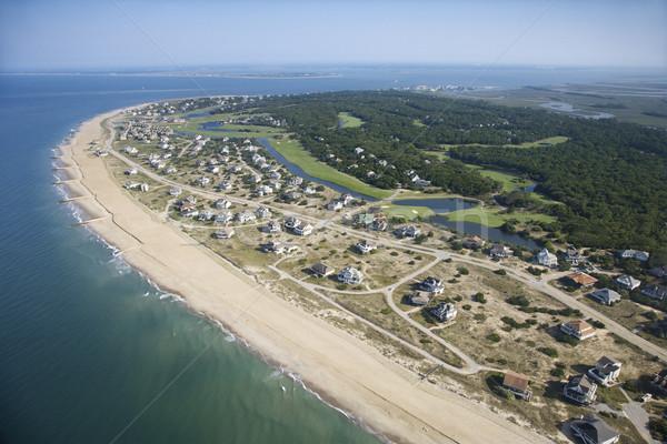 Coastal community. Stock photo © iofoto