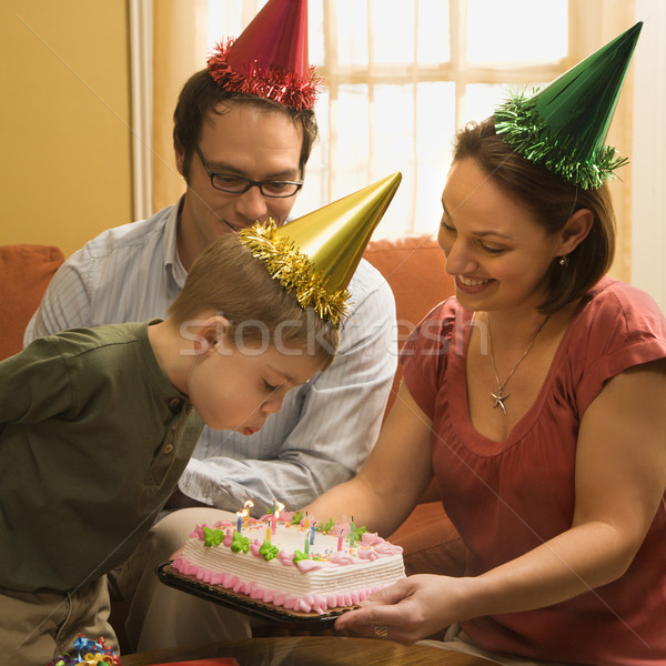 Family birthday party. Stock photo © iofoto