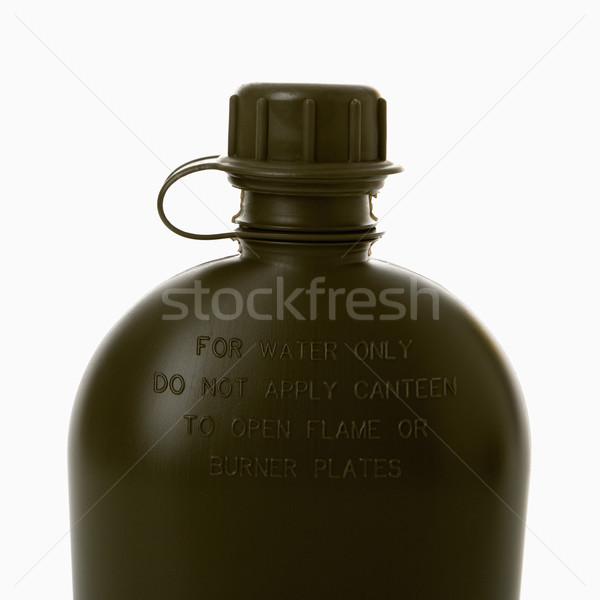 étkezde fekete víz ital szín konténer Stock fotó © iofoto