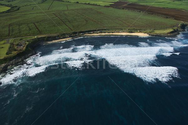 Surf spot on Maui. Stock photo © iofoto
