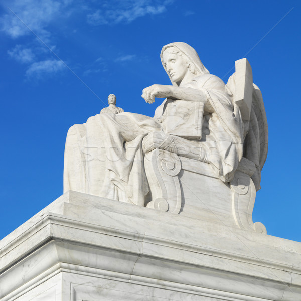Supreme Court sculpture. Stock photo © iofoto