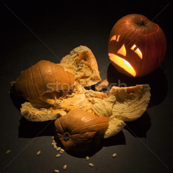 Halloween üzgün bakıyor doğa kaza Stok fotoğraf © iofoto
