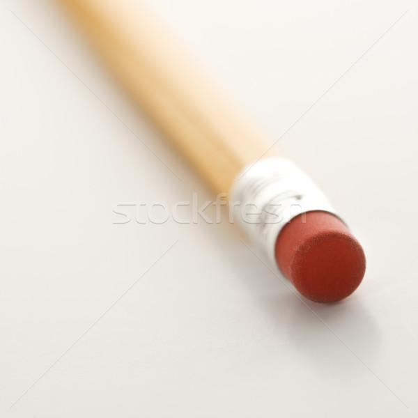 Eraser on a pencil. Stock photo © iofoto