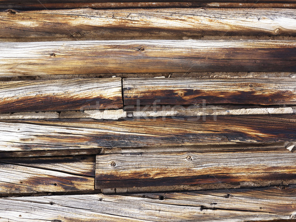 Wood siding. Stock photo © iofoto