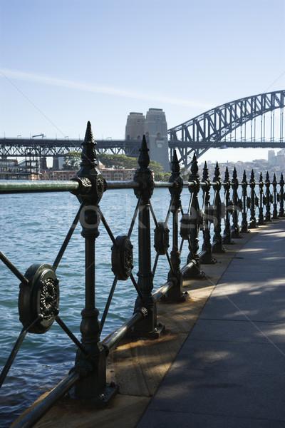 Sydney puerto puente Australia vista agua Foto stock © iofoto