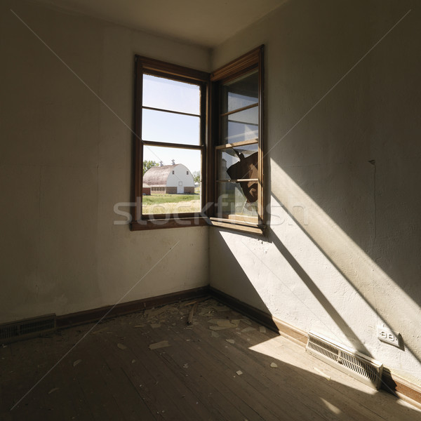 Window in empty room. Stock photo © iofoto
