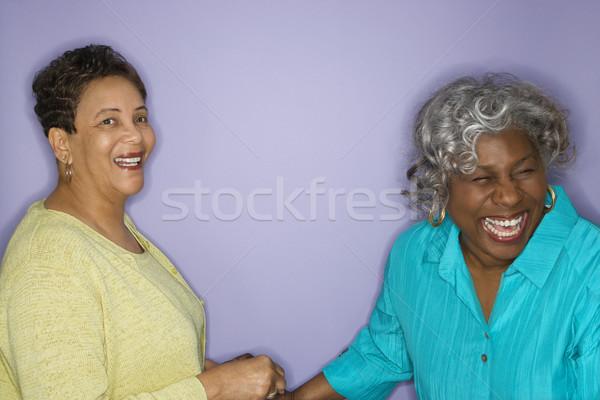 Women laughing. Stock photo © iofoto
