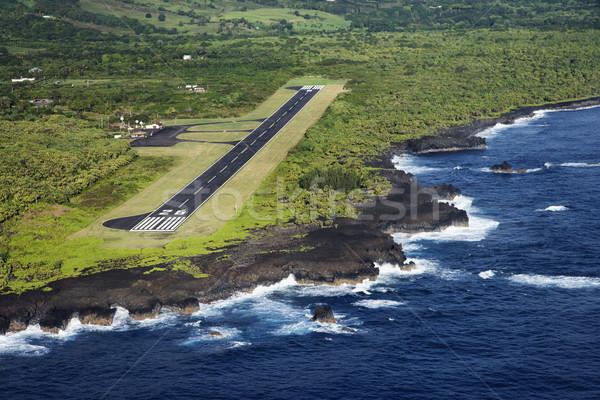 Airport runway. Stock photo © iofoto
