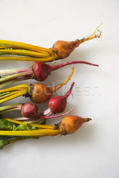 Beets with greens. Stock photo © iofoto