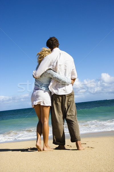 Couple embracing. Stock photo © iofoto