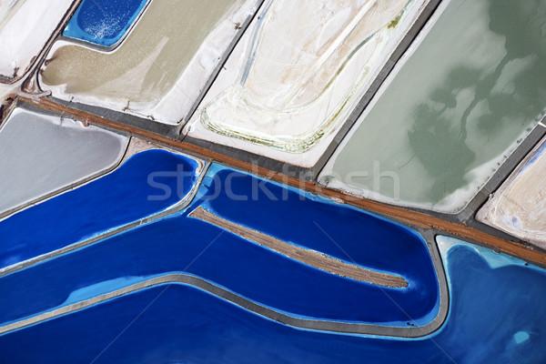 Tailing ponds. Stock photo © iofoto