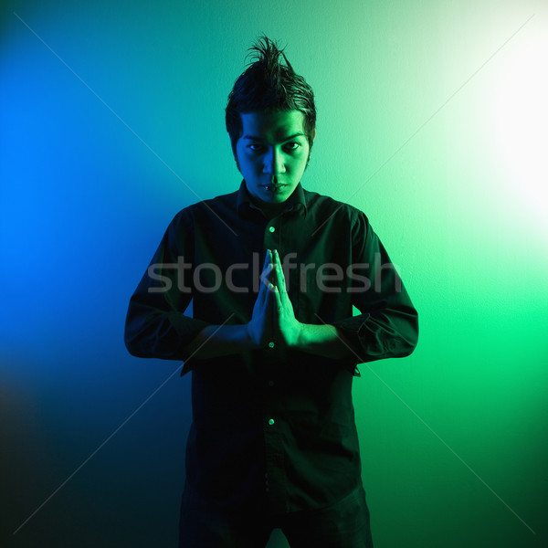 Young attractive hip man. Stock photo © iofoto