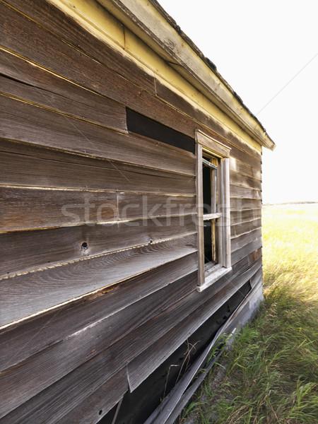 Dilapidated house. Stock photo © iofoto