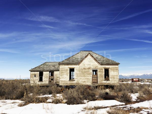 Abandoned Home Stock photo © iofoto