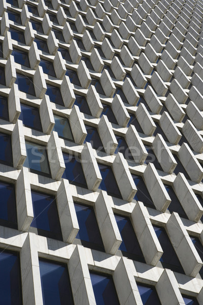 Architectuur detail wolkenkrabber centrum atlanta Stockfoto © iofoto