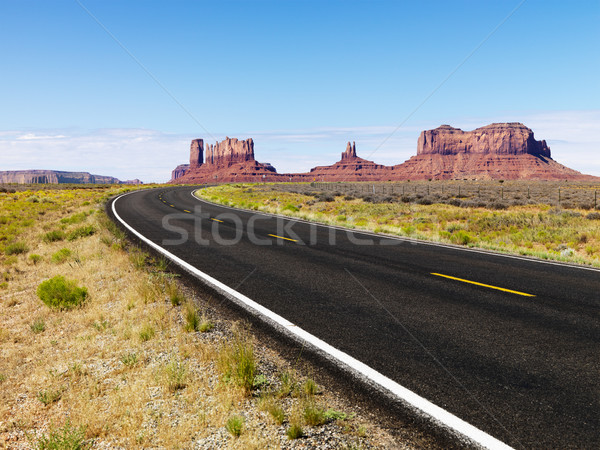 Scenic desert road. Stock photo © iofoto
