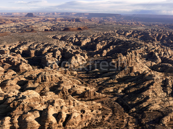 Rock Formations in Desert Stock photo © iofoto