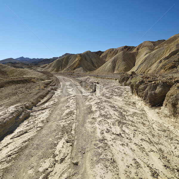 Dirt road in Death Valley. Stock photo © iofoto