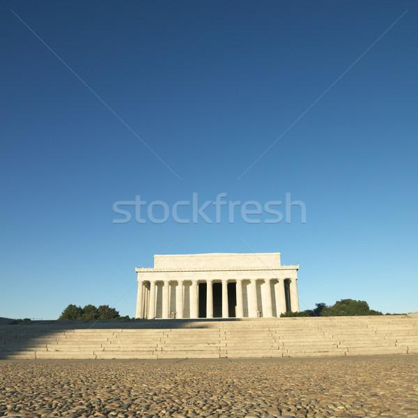 Stock photo: Lincoln Memorial, Washington, DC.