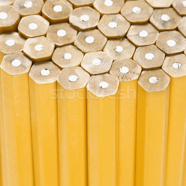 Unsharpened pencils. Stock photo © iofoto