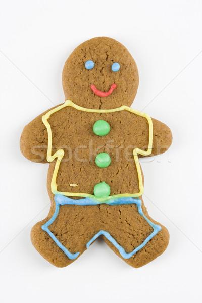 Foto stock: Cookie · feliz · color · masculina · dulces