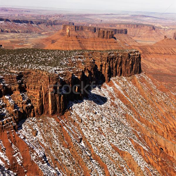 Park Utah manzara Amerika Birleşik Devletleri doğa Stok fotoğraf © iofoto