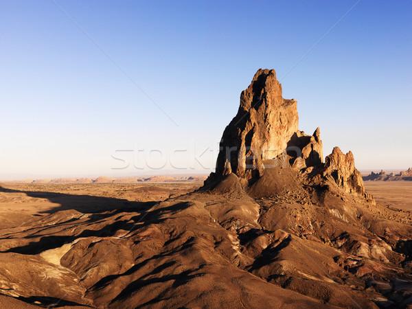 Grond Arizona woestijn schilderachtig landschap rock Stockfoto © iofoto
