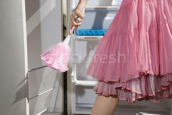 Woman doing chores. Stock photo © iofoto