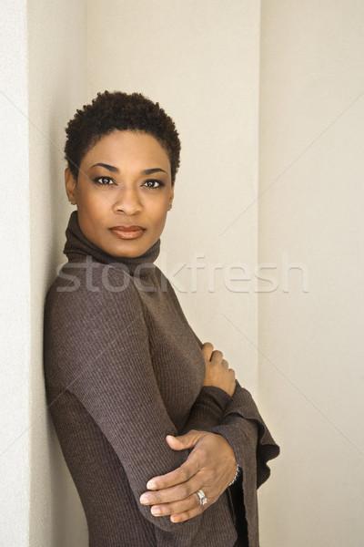 Posed woman portrait. Stock photo © iofoto