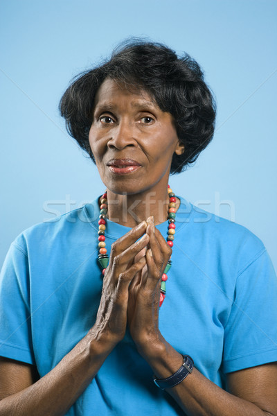 Prime adult woman portrait. Stock photo © iofoto