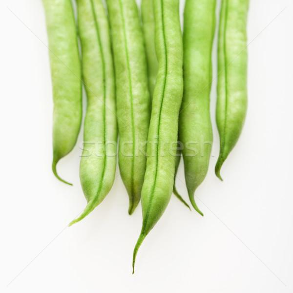 サヤインゲン 白 野菜 新鮮な ダイエット ストックフォト © iofoto