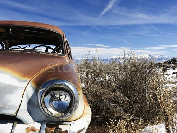 Abandoned Car Stock photo © iofoto