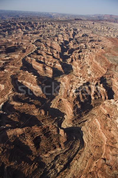 Park légi délnyugat sivatag kanyon Utah Stock fotó © iofoto
