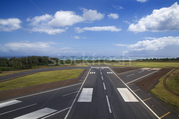 Airport runway. Stock photo © iofoto