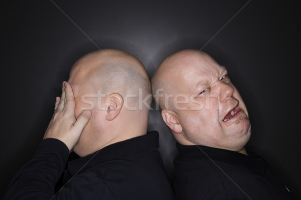 Twin brothers crying. Stock photo © iofoto